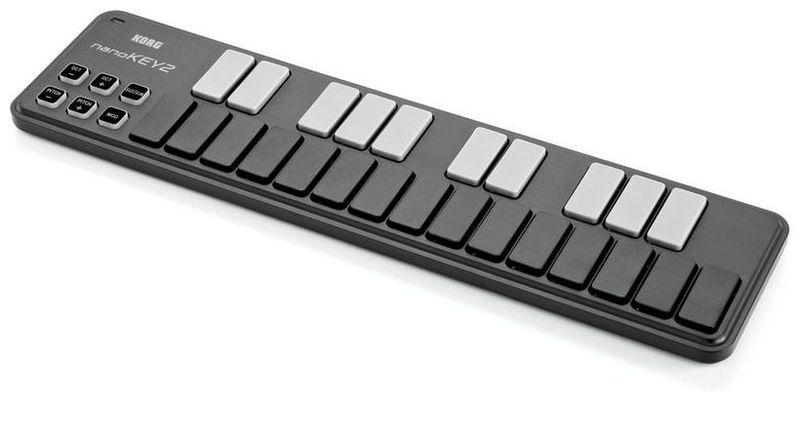 MIDI-клавиатура 25 клавиш Korg NanoKEY2 Black