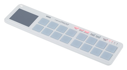 MIDI, Dj контроллер Korg NanoPAD2 WH korg dj gb 1
