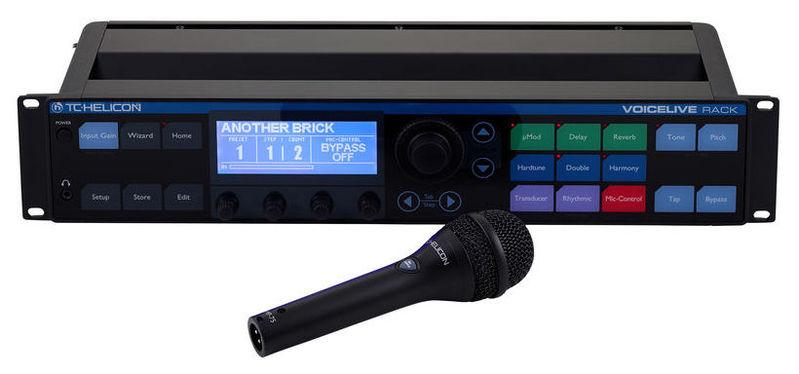 Вокальный процессор TC HELICON VoiceLive Rack вокальный процессор roland vt 12