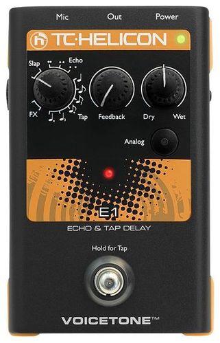 Вокальный процессор TC HELICON VoiceTone E1 вокальный процессор tc helicon voicelive 2