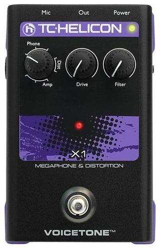 Вокальный процессор TC HELICON VoiceTone X1 вокальный процессор tc helicon voicelive 2