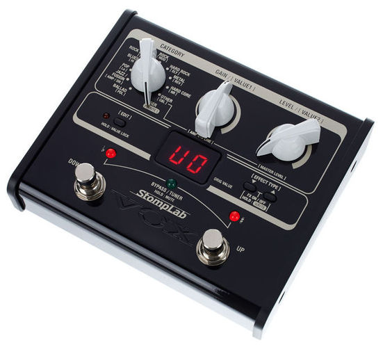Гитарный процессор для электрогитары VOX StompLab 1G vox stomplab 1g