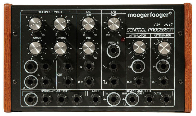 Процессор эффектов Moog CP-251 Moogerfooger Control Processor wavelets processor