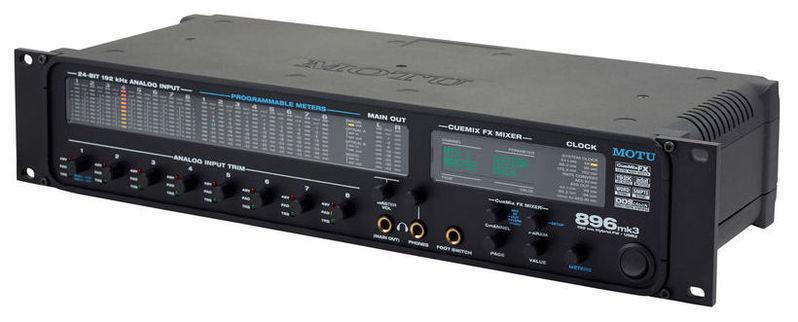 Звуковая карта внешняя MOTU 896mk3 Hybrid звуковая карта motu 828 mk iii firewire 24 192 в москве