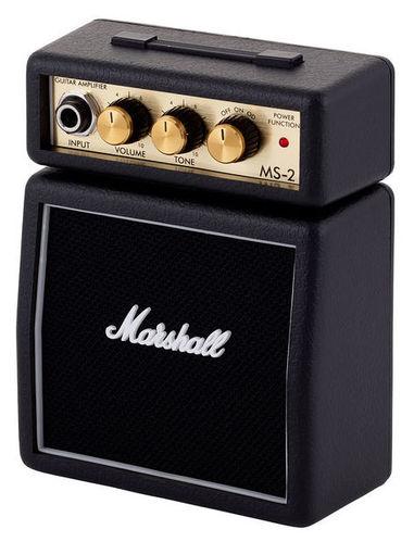 Усилитель для бас-гитары MARSHALL MS-2 deroace велосипедный цепной стальной замок для электрокара электро мотороллера мотора