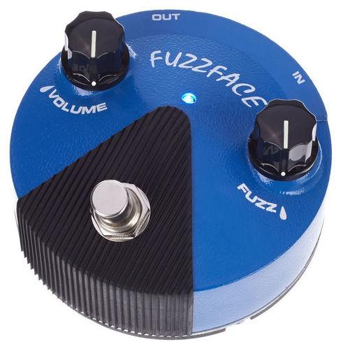 Педаль Fuzz DUNLOP Fuzz Face Mini Silicon FFM1 недорого