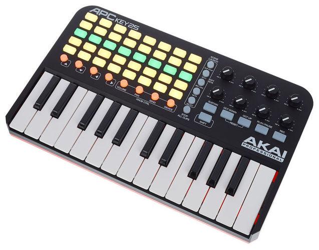 все цены на MIDI-клавиатура 25 клавиш AKAI APC Key 25 онлайн