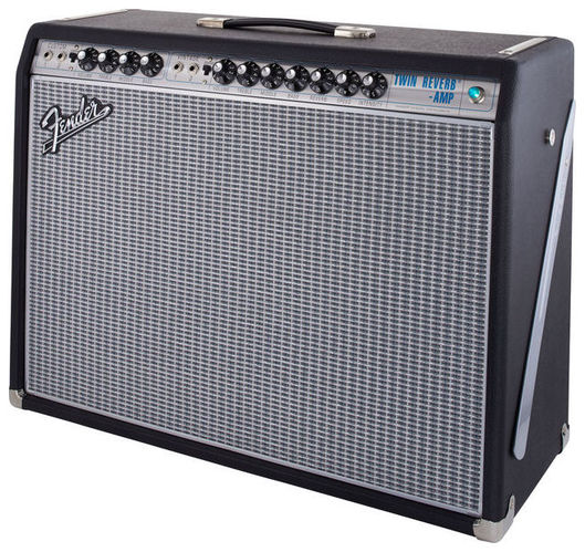 Комбо для гитары Fender 68 Custom Twin Reverb стоимость