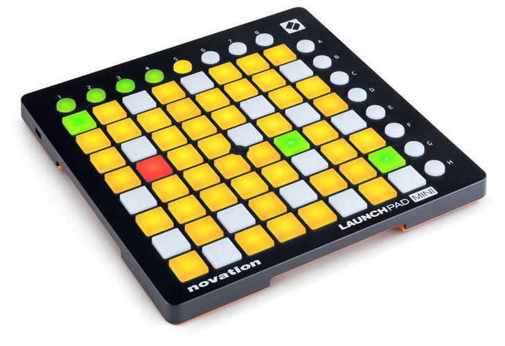 MIDI, Dj контроллер Novation Launchpad Mini MK2 цена и фото