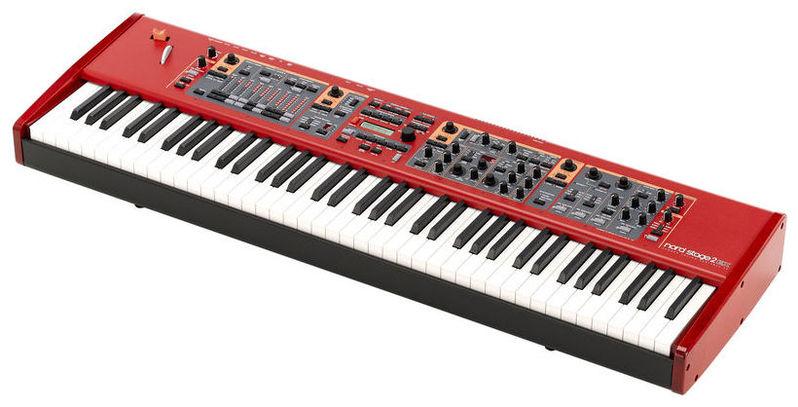 Сценическое фортепиано Clavia Nord Stage 2 EX HP76 электроорган clavia nord c2d combo organ