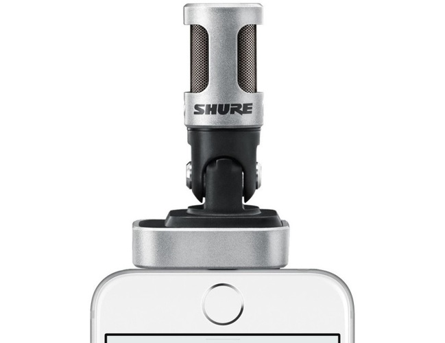iPad/iPhone микрофон Shure MV88 стерео микрофон shure vp88