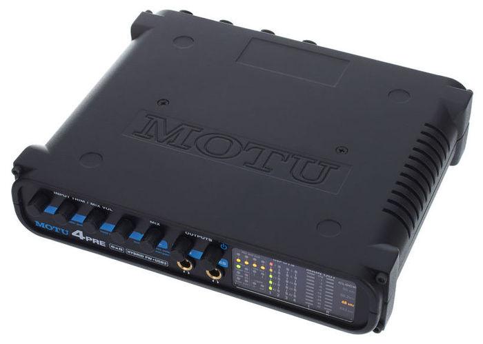 Звуковая карта внешняя MOTU 4Pre звуковая карта motu 828 mk iii firewire 24 192 в москве