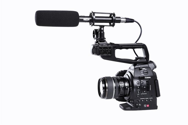 Микрофон для видеокамеры BOYA BY-PVM1000 original new for nihon kohden pvm 2700 pvm 2703 pvm 2701 sb 201p x076 monitor rechargeable battery 12v 3700mah free shipping