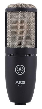 Микрофон с большой мембраной для студии AKG P220 akg y 20u