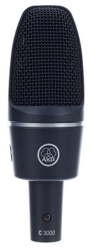 Микрофон с большой мембраной для студии AKG C3000 akg y 20u