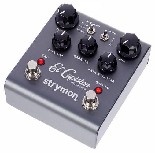 Педаль Reverb/Hall Strymon El Capistan педаль reverb delay strymon flint