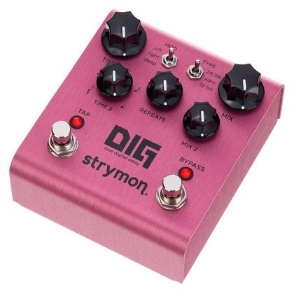 Педаль Reverb/Hall Strymon Dig Dual Digital Delay педаль reverb delay strymon flint