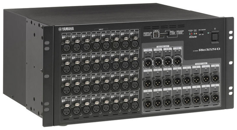 Stage box Yamaha Rio 3224-D  yamaha mtx5 d