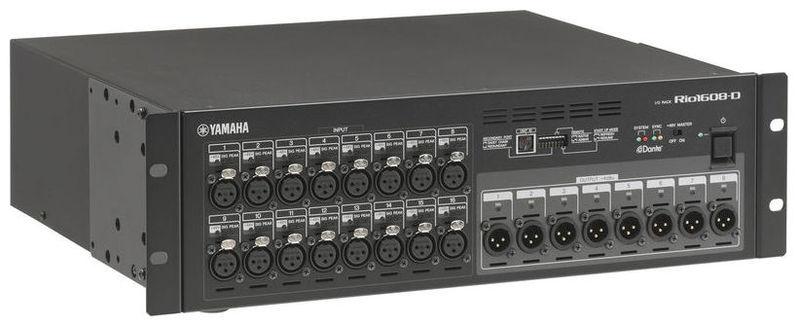 Stage box Yamaha Rio 1608-D  yamaha mtx5 d