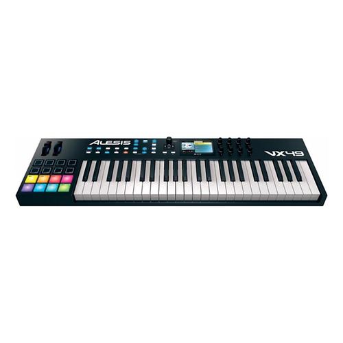 MIDI-клавиатура 49 клавиш Alesis VX49 midi контроллер alesis sample pad