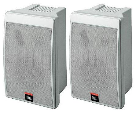 цена на Подвесная настенная акустика JBL Control 5 WH
