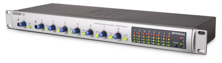 Микрофонный предусилитель PreSonus DigiMax D8