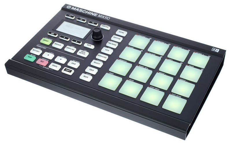MIDI, Dj контроллер Native Instruments MASCHINE MIKRO MK2 black