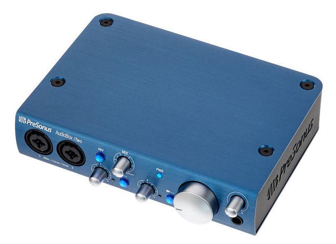 Звуковая карта внешняя PreSonus Audiobox iTWO аудио интерфейс presonus audiobox 44vsl ubs 2 0