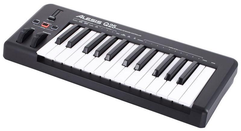 MIDI-клавиатура 25 клавиш Alesis Q25 midi клавиатура 49 клавиш alesis q49