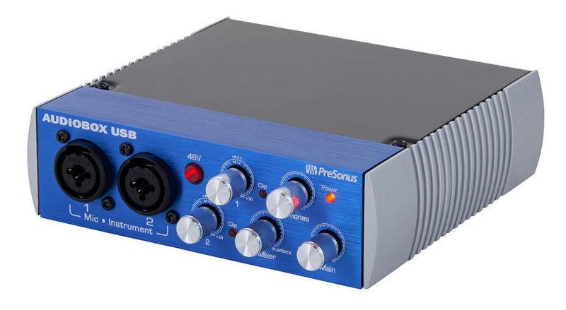 Звуковая карта внешняя PreSonus AudioBox USB аудио интерфейс presonus audiobox 44vsl ubs 2 0