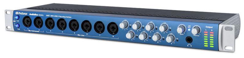 Звуковая карта внешняя PreSonus AudioBox 1818VSL аудио интерфейс presonus audiobox 44vsl ubs 2 0