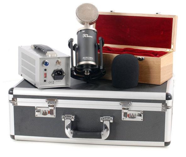 все цены на Микрофон с большой мембраной для студии T.Bone Retro Tube II онлайн