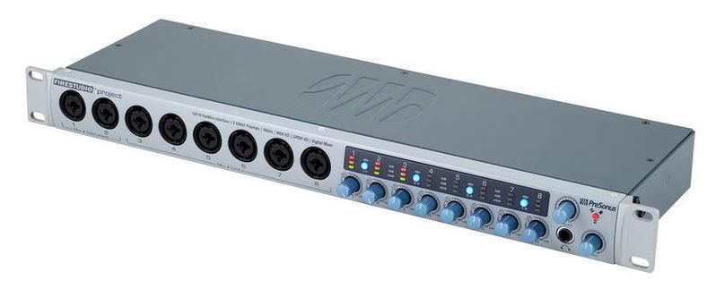 Звуковая карта внешняя PreSonus FireStudio Project аудио интерфейс presonus audiobox 44vsl ubs 2 0