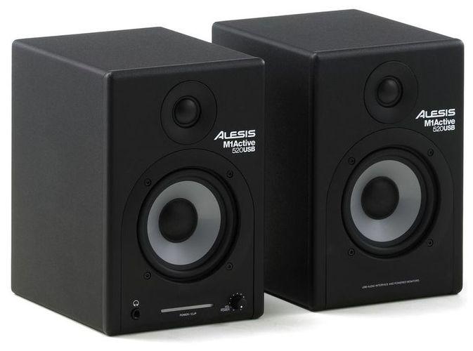 Активный студийный монитор Alesis M1 Active 520 USB alesis guitarlink plus