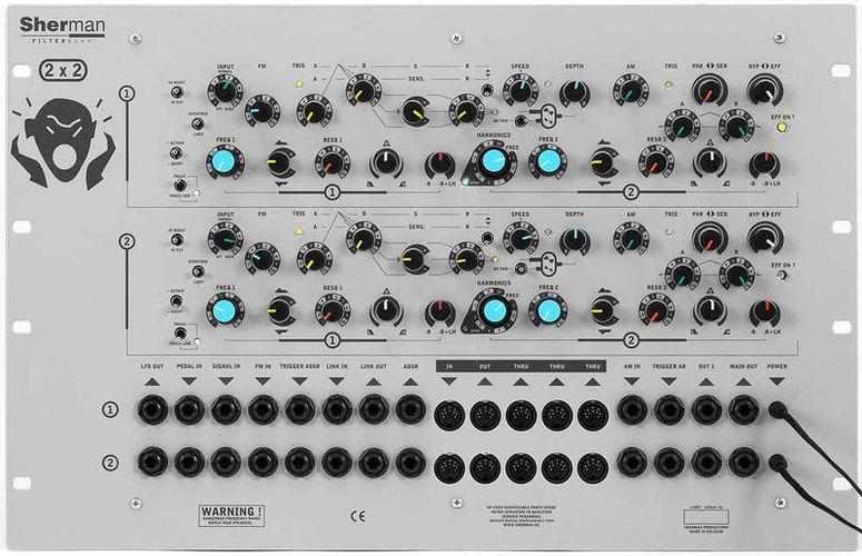 Процессор эффектов Sherman Synthesizers Filterbank 2 Dual Rack sherman