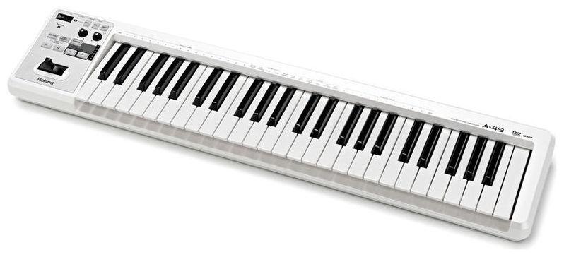 MIDI-клавиатура 49 клавиш Roland A-49 White midi клавиатура roland k 25m