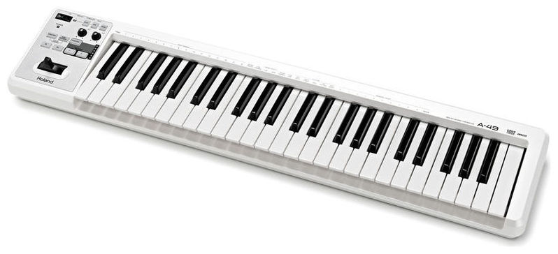 MIDI-клавиатура 49 клавиш Roland A-49 White чехол сумка для клавиш roland cb 61 rl
