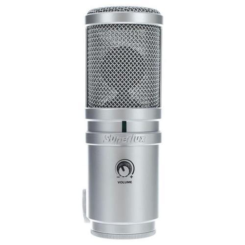 USB микрофон Superlux E205U интерком система superlux hmd 660x