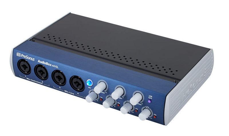 Звуковая карта внешняя PreSonus AudioBox 44VSL аудио интерфейс presonus audiobox 44vsl ubs 2 0