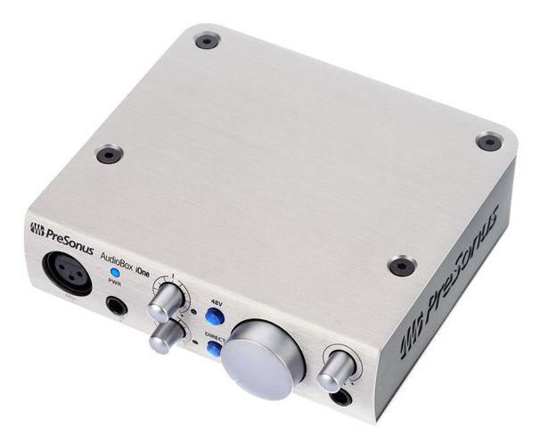 Звуковая карта внешняя PreSonus AudioBox iOne Platinum