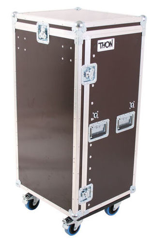 Рэковый шкаф и кейс Thon L-Rack 20HE Toolcase Wheels akg y 20u