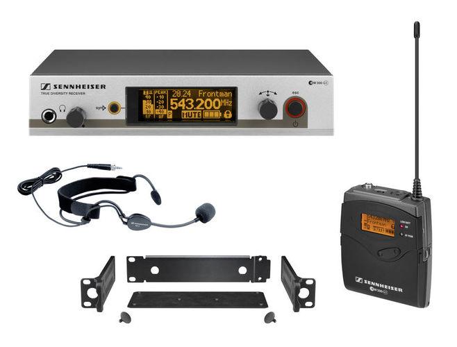 Радиосистема с головным микрофоном Sennheiser EW 352 G3 / E-Band радиосистема sennheiser ew 100 945 g3 b x