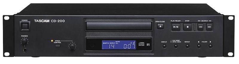 CD проигрыватель Tascam CD-200 портативный cd плеер с джойстиком