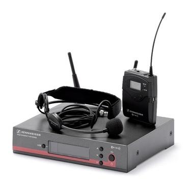Радиосистема с головным микрофоном Sennheiser EW 152-G3-B радиосистема sennheiser ew 100 945 g3 b x