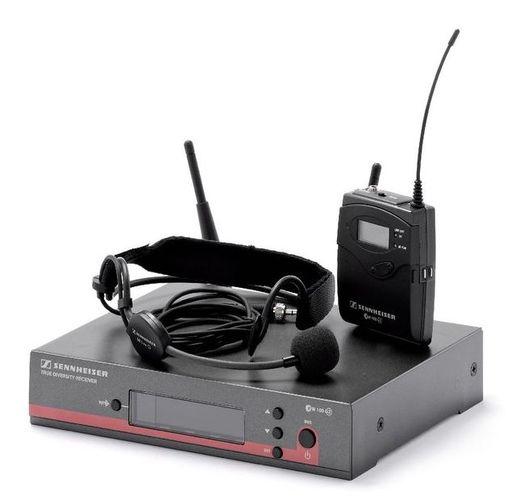 Радиосистема с головным микрофоном Sennheiser EW 152 G3 / 1G8 радиосистема sennheiser ew 100 945 g3 b x