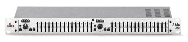 Эквалайзер Dbx 215s приборы обработки звука dbx 640m