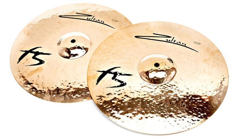 Тарелка хай-хэт Zultan 14 F5 Hi-Hat хай хэт и контроллер для электронной ударной установки millenium mps 200 mono cymbal pad