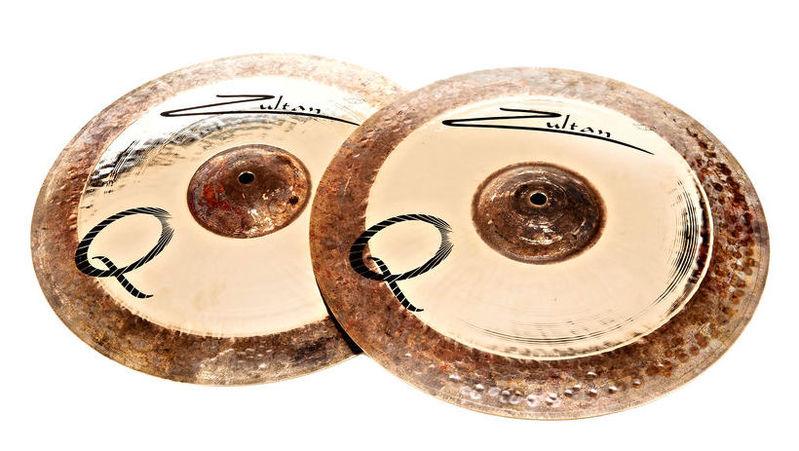 Тарелка хай-хэт Zultan 14 Q Hi-Hat хай хэт и контроллер для электронной ударной установки millenium mps 200 mono cymbal pad