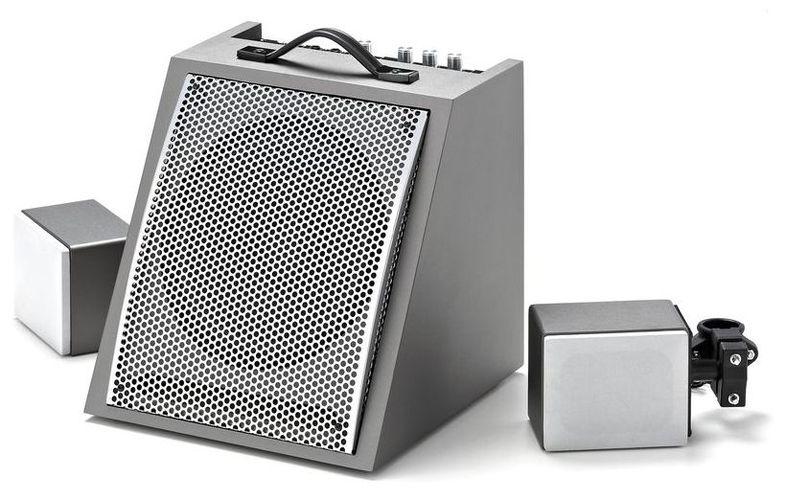 Акустика для электронной ударной установки Millenium DM-50 Drum Monitor хай хэт и контроллер для электронной ударной установки millenium mps 200 mono cymbal pad