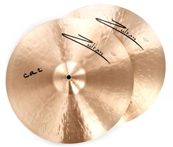 Тарелка хай-хэт Zultan 14 Caz Hi-Hat хай хэт и контроллер для электронной ударной установки millenium mps 200 mono cymbal pad
